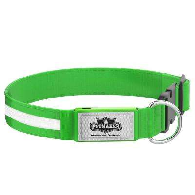 Medium Green LED Dog Collar