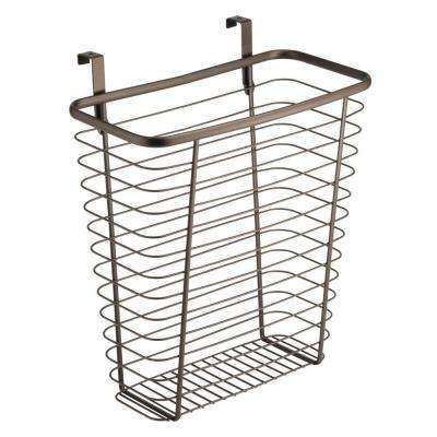 Axis Over the Cabinet Waste/Storage Basket in Bronze