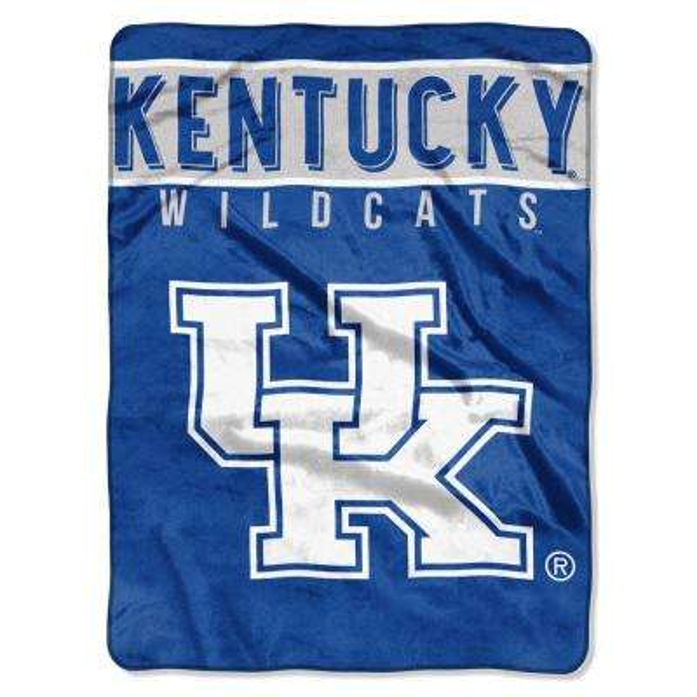 Kentucky Multi Color Polyester Basic Raschel Blanket