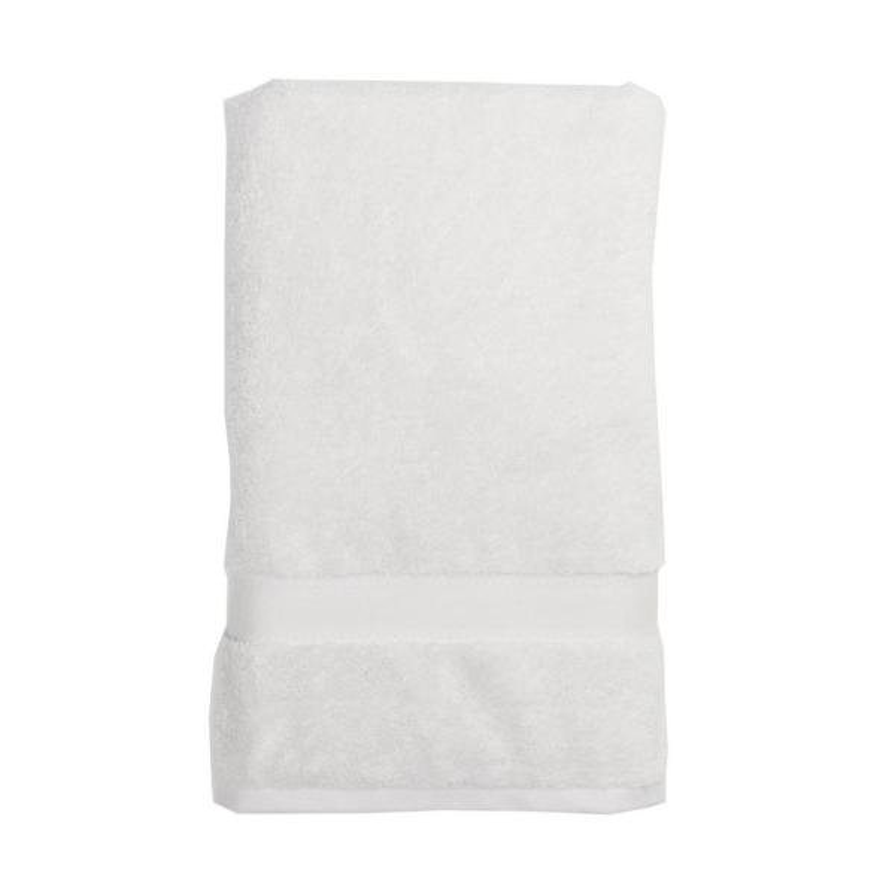 The Company Store Cotton Cashmere Wash Cloth in Alabaster VK28-WASH-ALABASTER