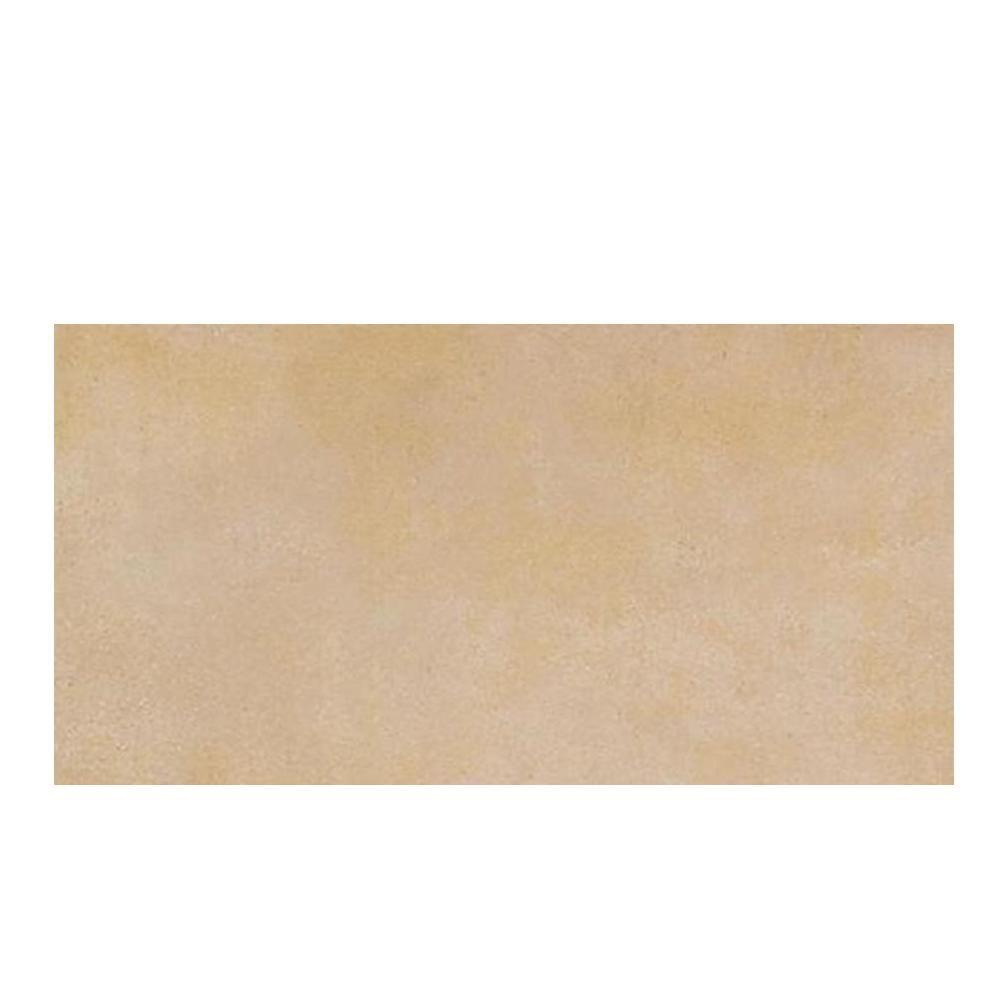 Daltile Veranda Sand (Brown) 6-1/2 in. x 20 in. Porcelain Floor and Wall Tile (10.32 sq. ft. / case)
