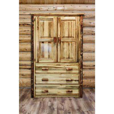 Elegant Glacier Country Collection Puritan Pine Storage Furniture