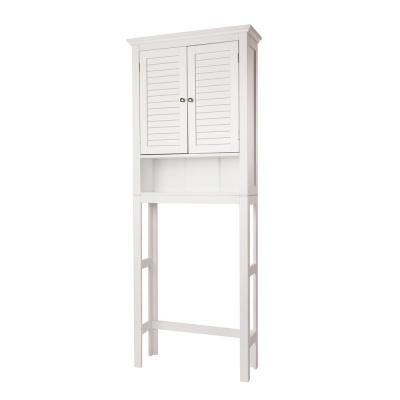 68.26 in. H White Cabinet