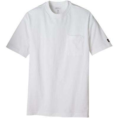 Men's Extra Large White Pocket T-Shirt