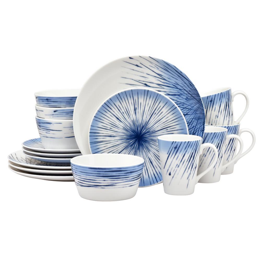 16-Piece Hanabi Porcelain Dinnerware Set