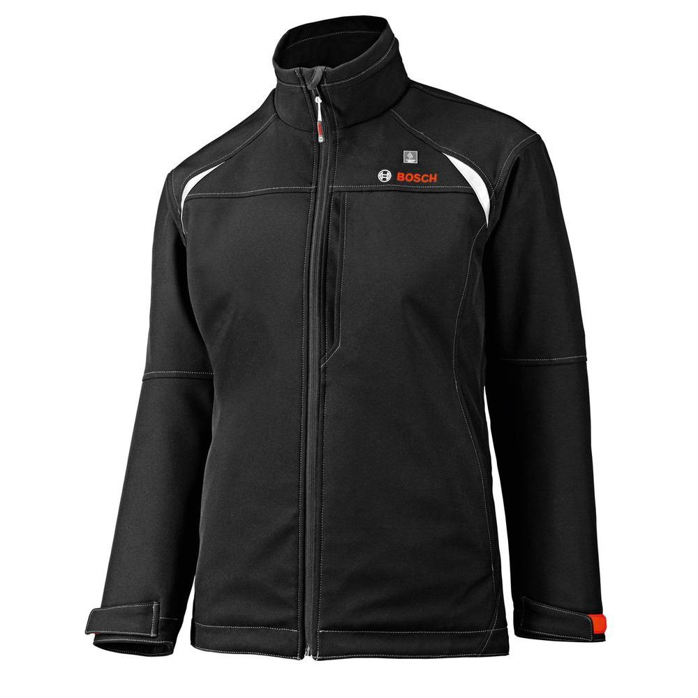 12 Volt Women's Black Heated Jacket