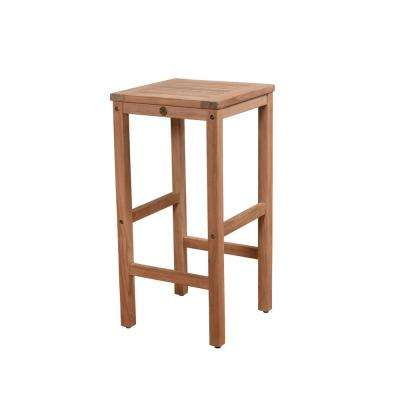 Caesar Teak Patio Bar Stool