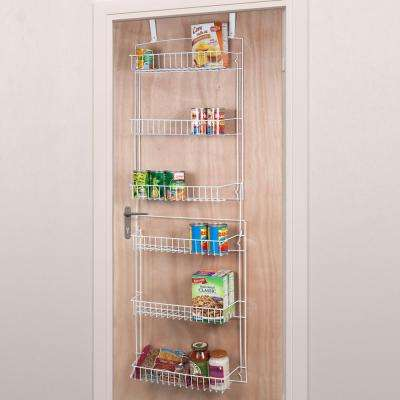 60 in. x 19 in. x 5 in. 6-Tier Steel Hanging Rack