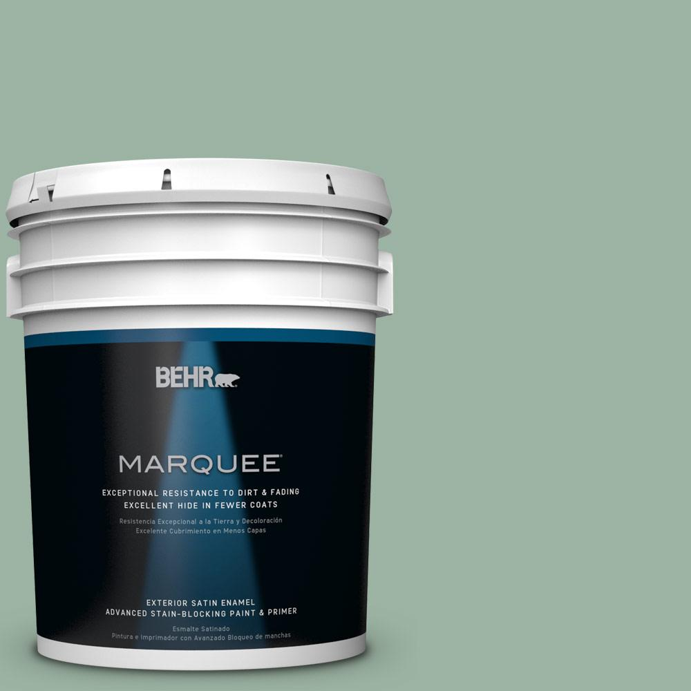 5-gal. #S410-4 Copper Patina Satin Enamel Exterior Paint