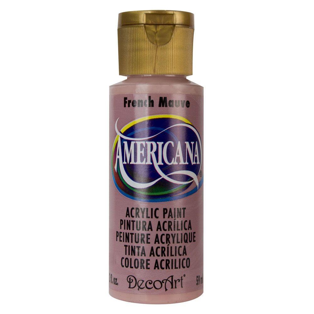 Americana 2 oz. French Mauve Acrylic Paint