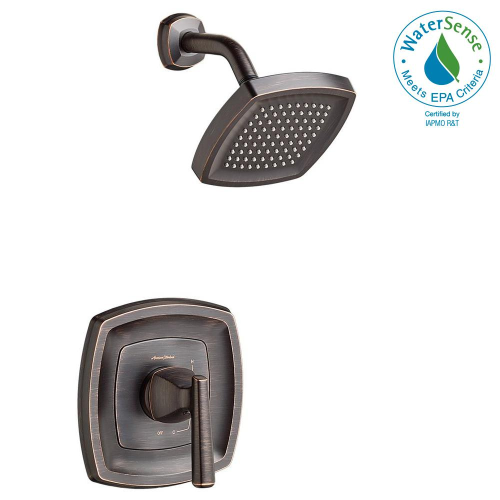 Edgemere 1-Handle Tub and Shower Faucet Trim Kit in Legacy Bronze