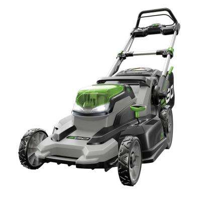 20 in. 56-Volt Lithium-ion Cordless Battery Push Mower with 4.0Ah Battery and Charger Included