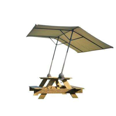 Tilt Mount Quick Clamp Canopy