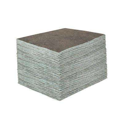 Medium-Duty 15 in. x 19 in. Absorbent Pads (100 Pads per Case)