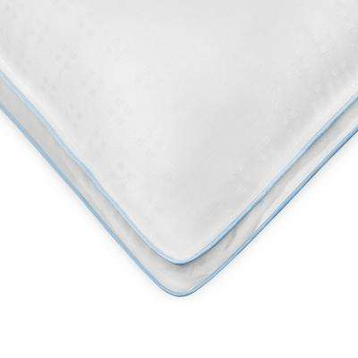 Gel Fusion Cooling Hypoallergenic Down Alternative King Pillow (Set of 2)