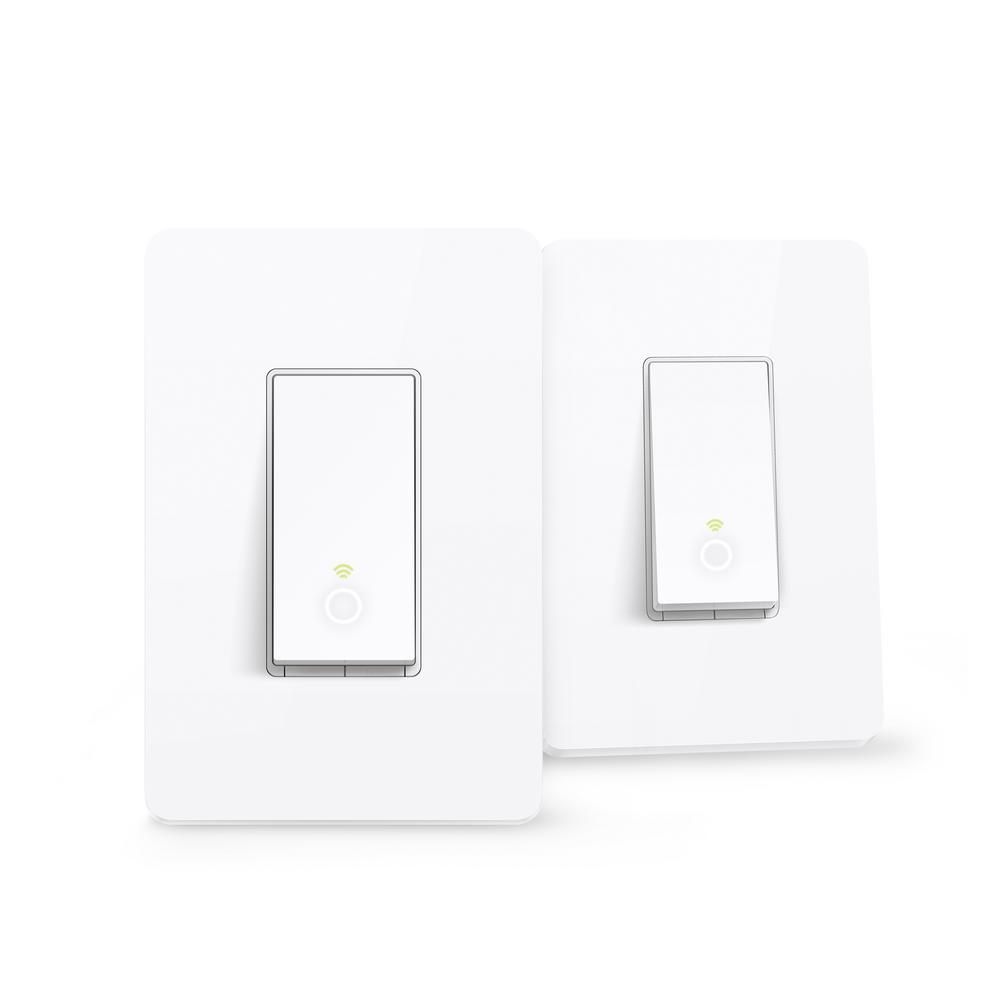 TP-LINK Smart Wi-Fi Light Switch (2-Pack)-HS200 2pk - The Home Depot