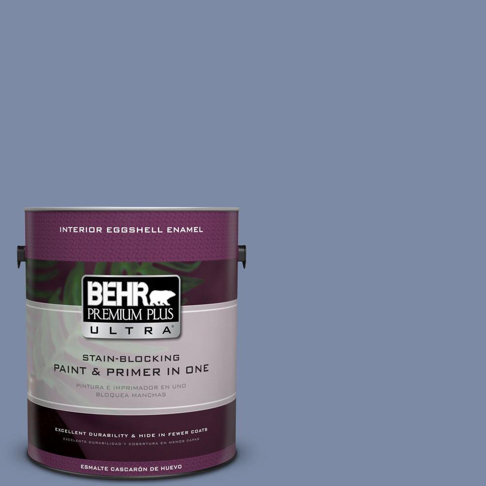 BEHR Premium Plus Ultra 1-gal. #PPU15-9 Hilo Bay Eggshell Enamel Interior Paint