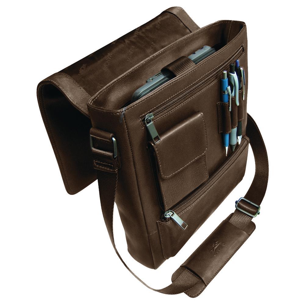 Messenger Style Brown Unisex Bag for 10 in. Tablet/ E-Reader