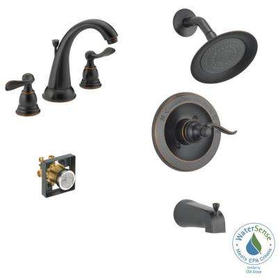 Windemere 8 In. Widespread 2 Handle Bathroom Faucet ...
