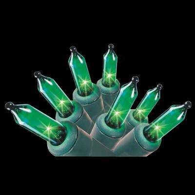 100-Light STS Light Set in Green (6-Pack)