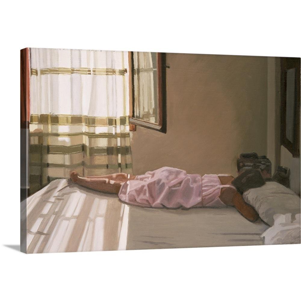 """Early Morning - Crete"" by Gillian Furlong Canvas Wall Art"