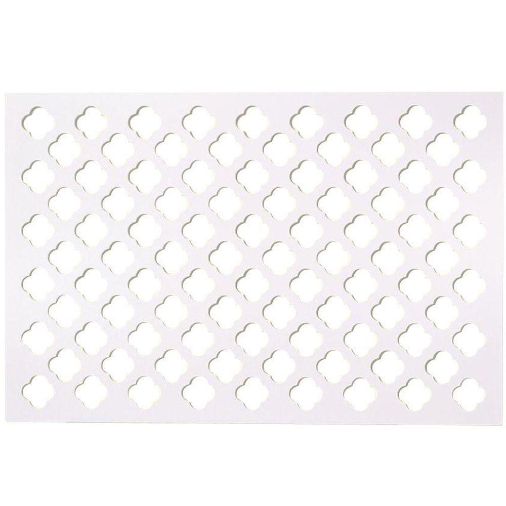 White - Lattice - Lumber & Composites - The Home Depot