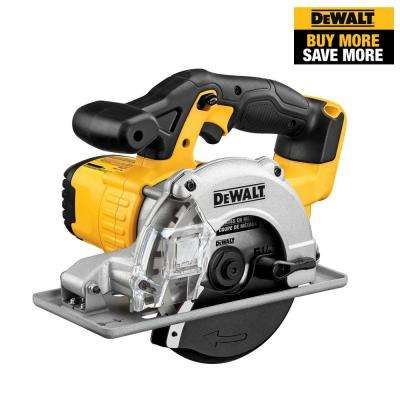 20-Volt MAX Lithium-Ion Cordless 5-1/2 in. Metal Cutting Circular Saw (Tool-Only)