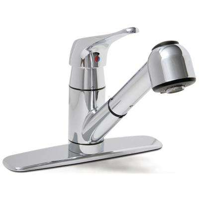 Somoma Single-Handle Pull-Out Sprayer Kitchen Faucet in Chrome