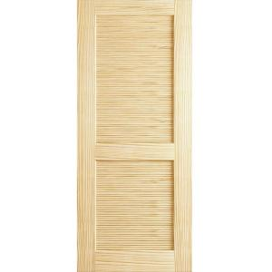 solid wood interior doors home depot bay 30 in x 80 in louvered solid 27540