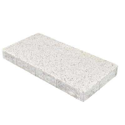 Granetta Double 20 in. x 10 in. x 2 in. Salt n Pepper Concrete Step Stone (60-Piece / 83 sq. ft. / Pallet)