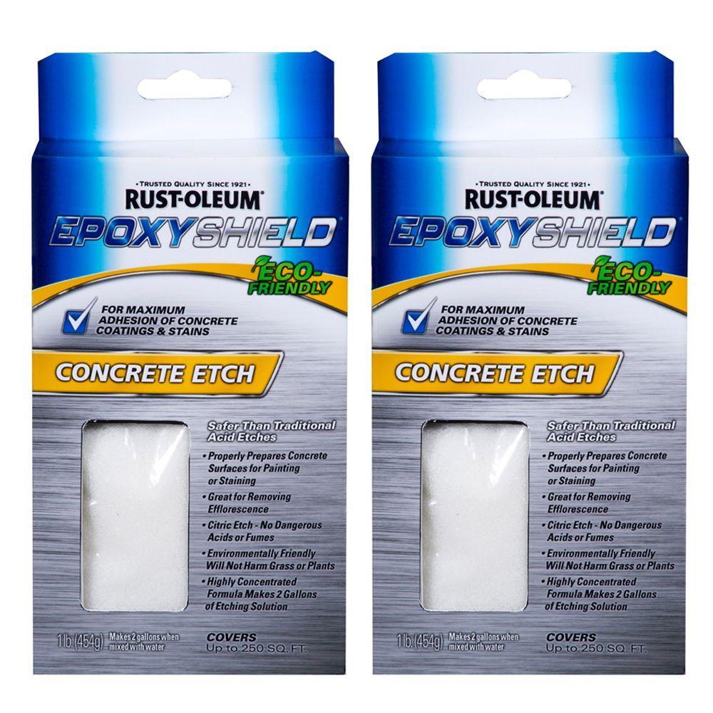 Rust-Oleum 1 lb. EpoxyShield Concrete Etcher_x000D_ (2-Pack)-DISCONTINUED