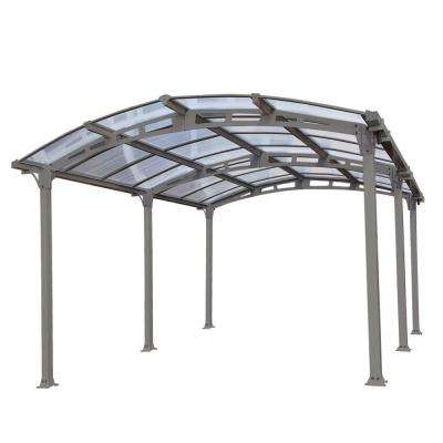 carport with polycarbonate roof