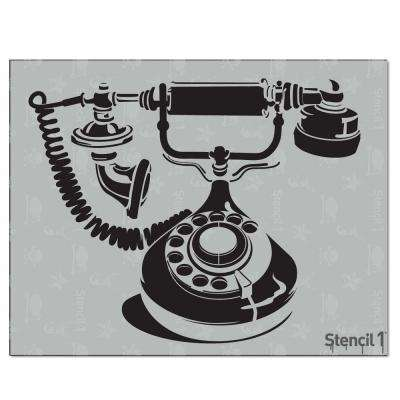Fancy Phone Stencil