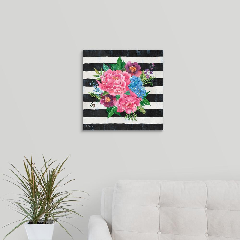 GreatBigCanvas ''Juliette Bouquet II'' by Paul Brent Canvas Wall Art