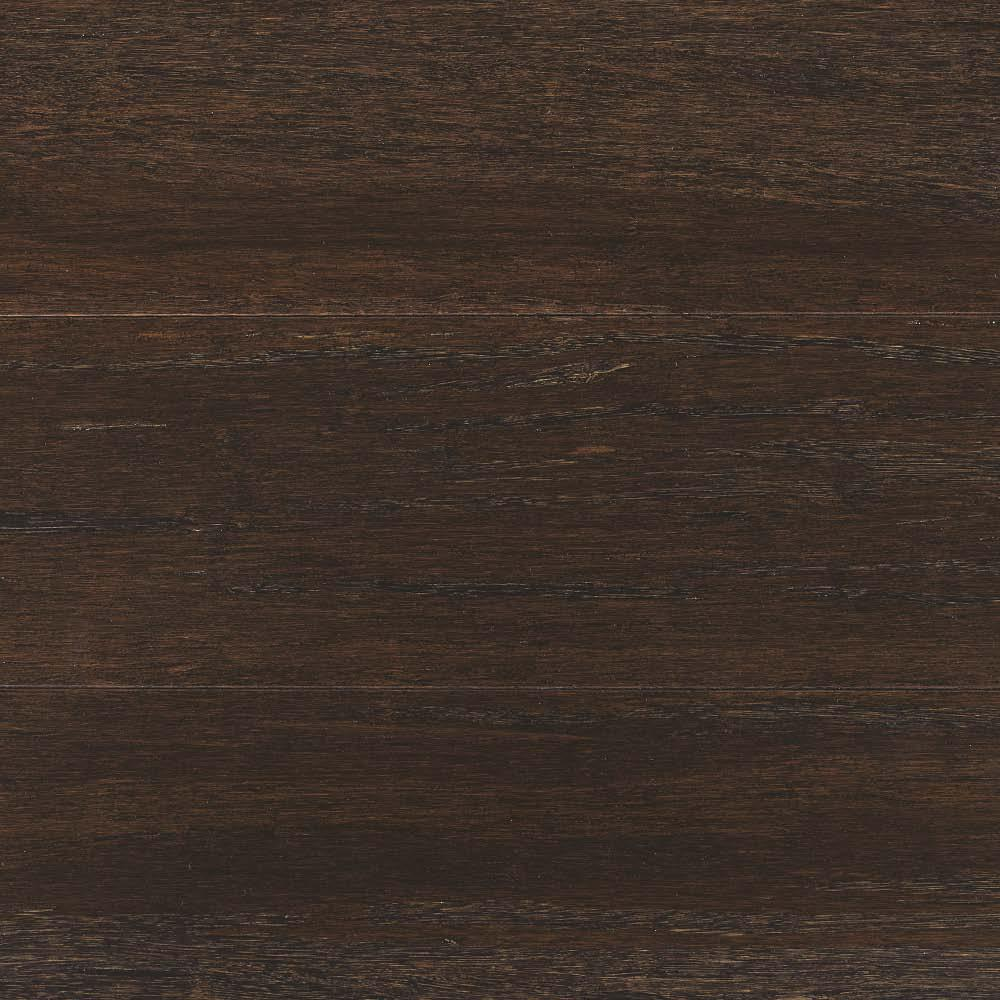 Wire Brushed Strand Woven Prescott 1 2 In T X 5 8 W 72 L Solid Bamboo Flooring