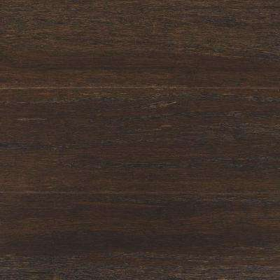 Wire Brushed Strand Woven Prescott 1/2 in. T x 5-1/8 in. W x 72 in. L Solid Bamboo Flooring