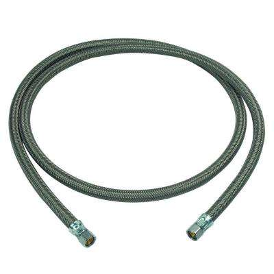 3/8 in. Compression x 3/8 in. Compression x 72 in. Braided Polymer Dishwasher Connector