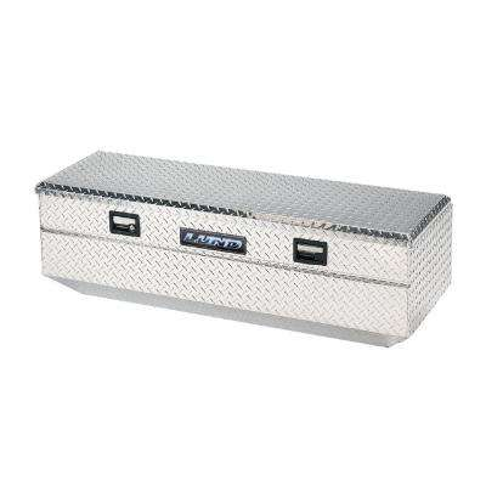 60.75 in Diamond Plate Aluminum Full Size Chest Truck Tool Box