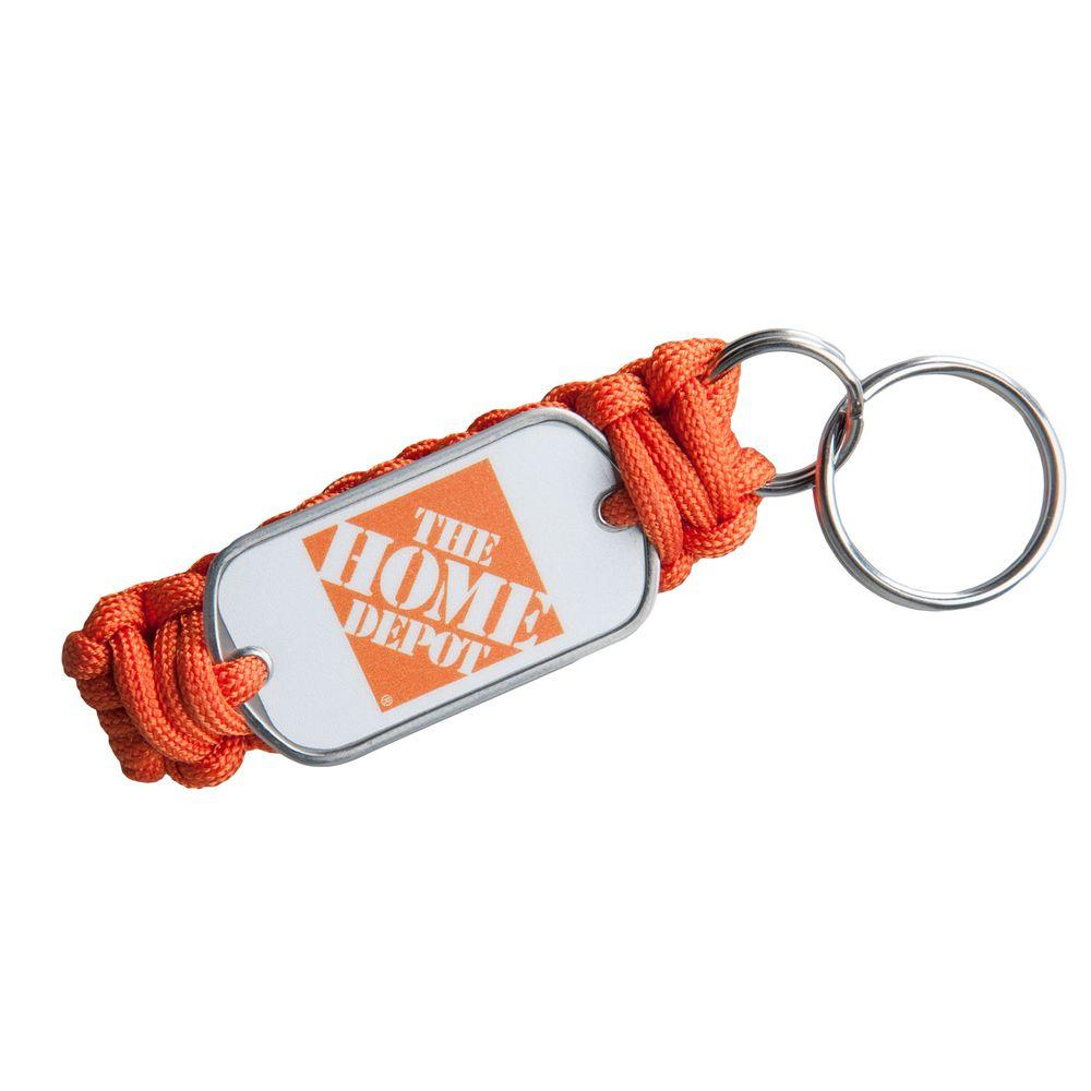 null Survival Straps Dog Tag Key Fob-DISCONTINUED