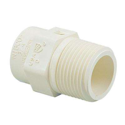1 in. CPVC CTS Slip x MPT Male Adapter Fitting