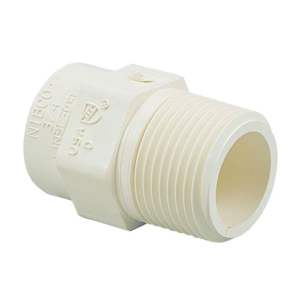 CPVCMA06LF 1-1/4 LF CPVC X MIP BRASS ADAPTER