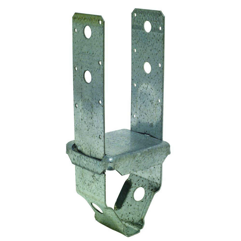 Simpson Strong-Tie PBS ZMAX Galvanized Standoff Post Base for 4x4 Nominal Lumber