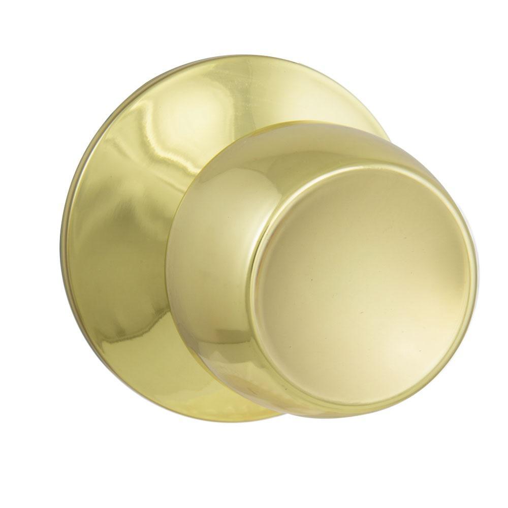 Brandywine Polished Brass Hall/Closet Passage Door Knob