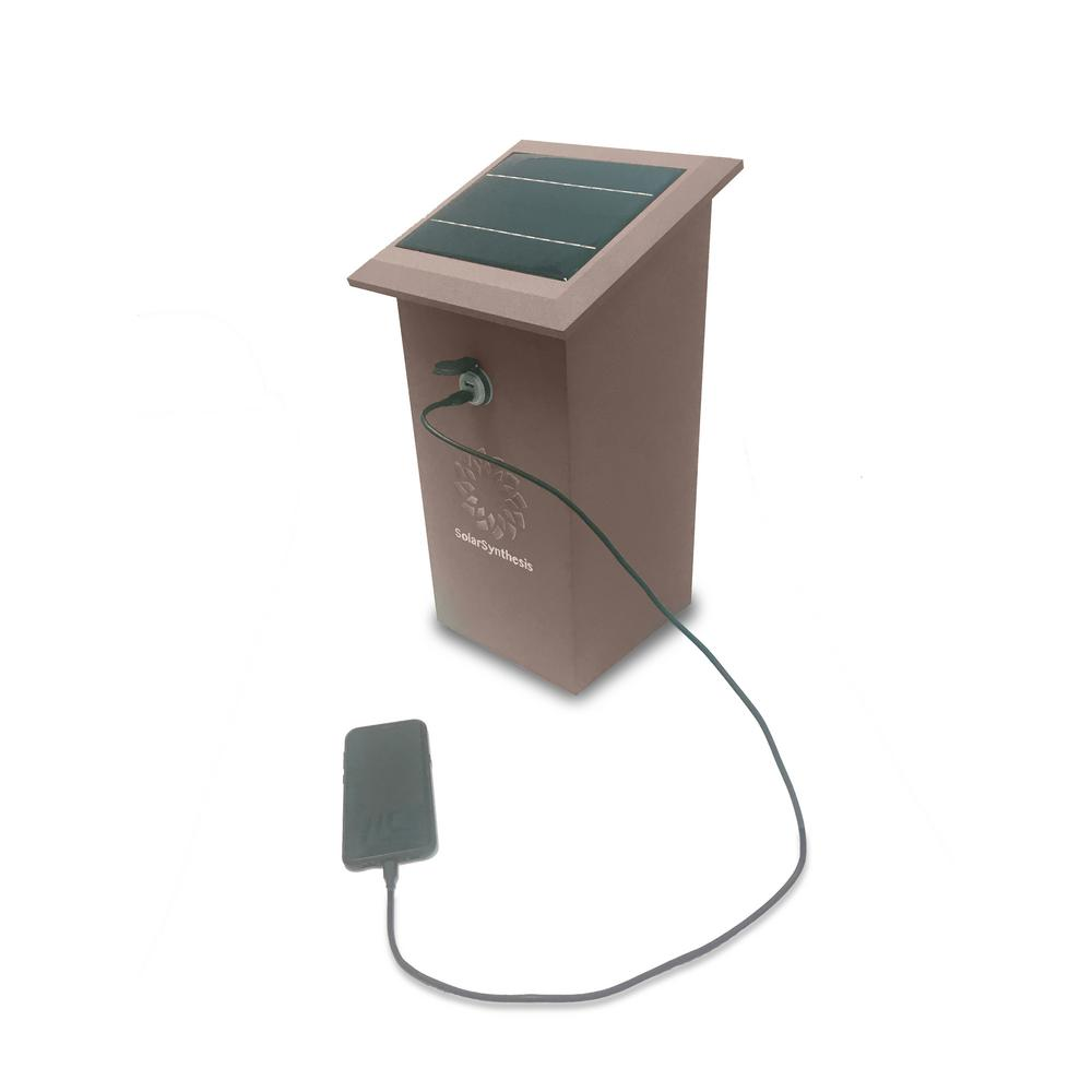 84-Watt 12-Volt Solar Powered USB Charging Station