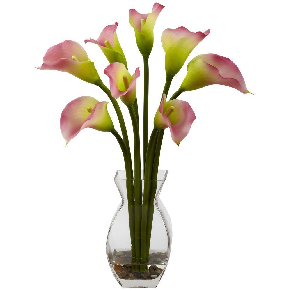 Classic Calla Lily Arrangement in Pink