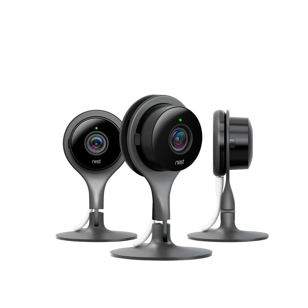 Cam Indoor Smart Wi Fi Security Camera 3 Pack