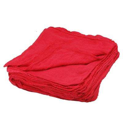 Shop Towels in Red (50-Piece)