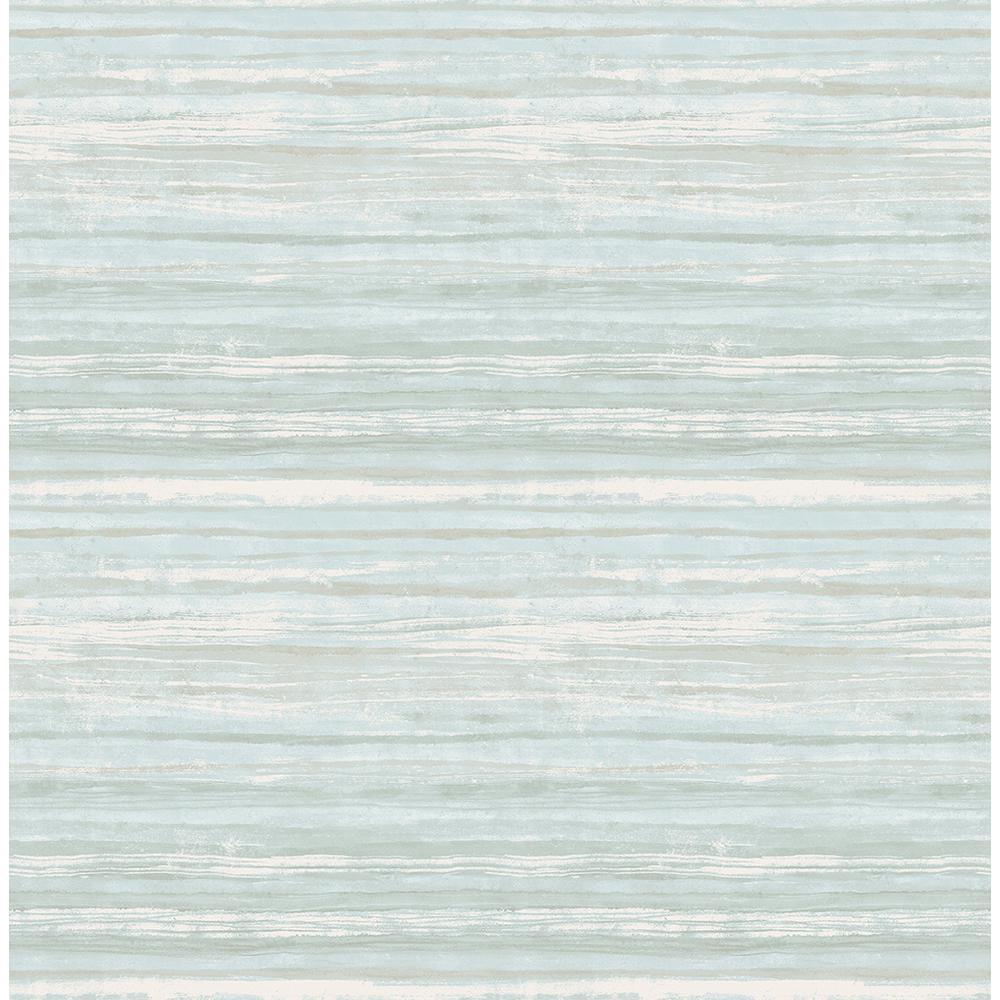 Kenneth James Arakan Blue Stripe Wallpaper