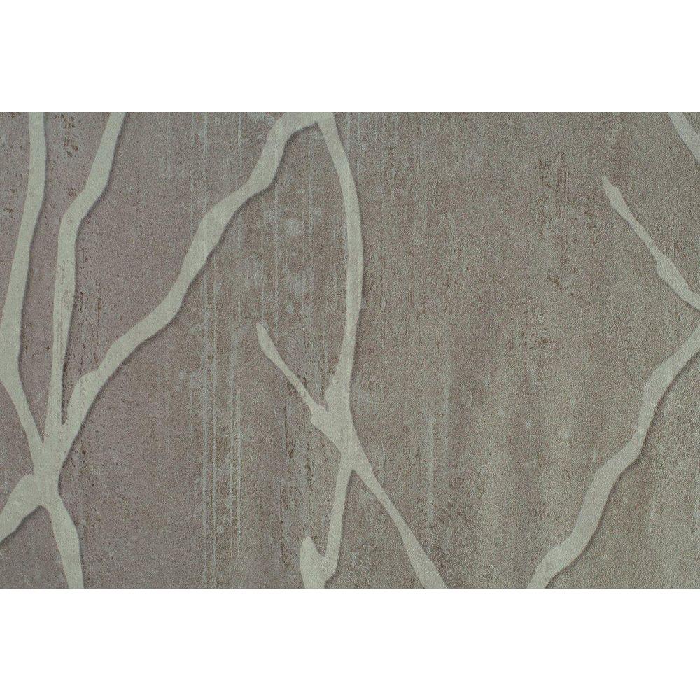 Washington Wallcoverings Deep Beige Willow Branch Print Wallpaper