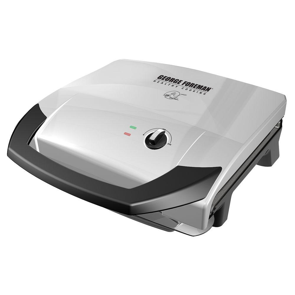George Foreman Platinum Variable Temp Grill-DISCONTINUED